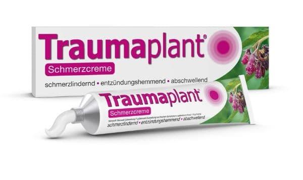 Traumaplant Packung und Tube