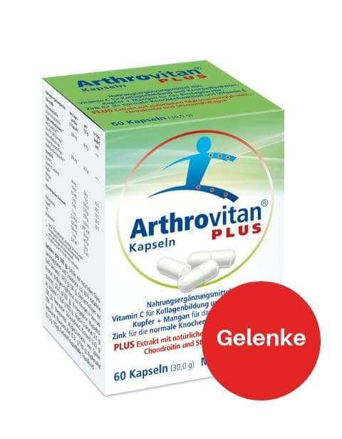 Arthrovitan plus für die Gelenke