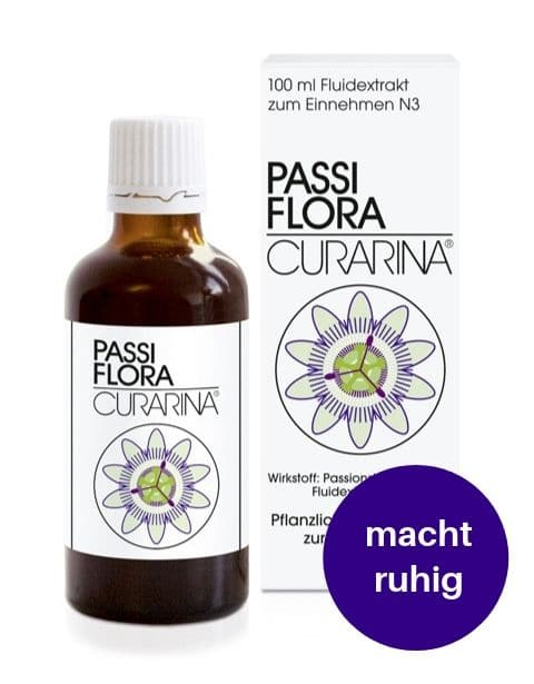 Passiflora macht ruhig